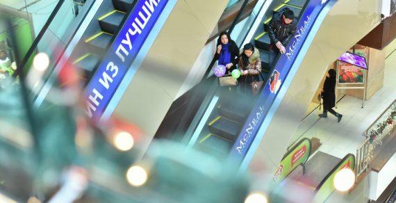 В торговых центрах усилены санитарные требования
