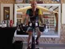 Очень долгая поездка на велотренажёре стала рекордной
