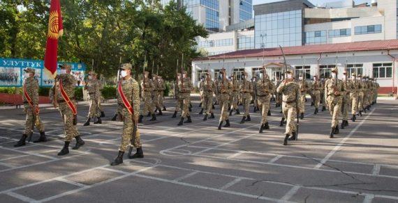 79 военнослужащих отправились в Москву для участия в Параде Победы