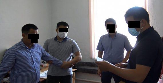 Сотрудник мэрии Таласа задержан за вымогательство взятки