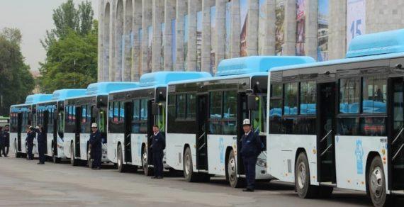 Сто новых автобусов в Бишкек поставит китайская компания