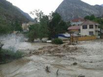 В Кадамжайском районе Баткенской области вновь сошли сели
