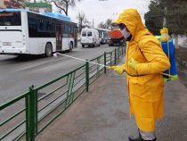 Дезинфекционные мероприятия в Бишкеке проводятся каждый день
