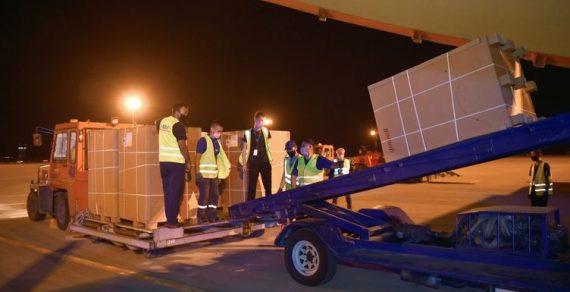 ВКыргызстан прибыл гуманитарный груз изУзбекистана