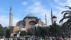В мечети айя-София в Стамбуле сегодня состоится первый пятничный намаз