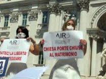 Невесты протестуют против ограничений в Италии