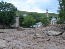В Кадамжае сели разрушили шесть мостов