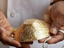 В Индии продают защитные маски из золота и с бриллиантами