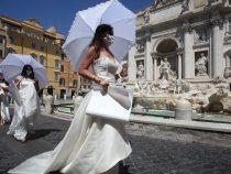 В Риме прошел самый красивый бунт