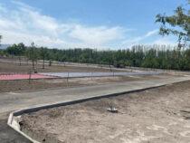 Строительство парка здоровья близится к завершению