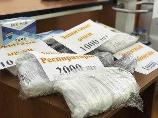 Минздрав получил аппараты ИВЛ и партию средств индивидуальной защиты