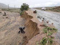 Сели смыли часть дороги в Тонском районе