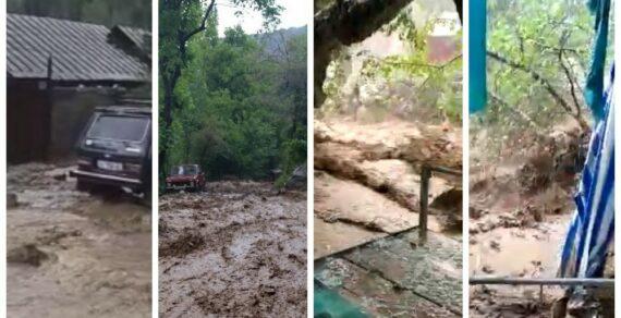 Проливные дожди в регионах спровоцировали сход селей