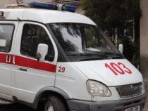 Новый автомобиль «скорой» сломался по дороге на Иссык-Куль