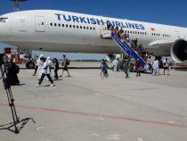 На родину сегодня вернулись еще свыше трехсот кыргызстанцев