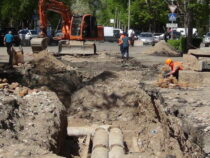 Движение по улице Токтогула в Бишкеке будет ограничено