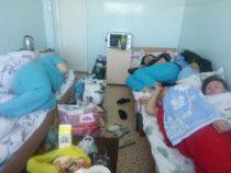 Врачи Иссык-Кульской областной больницы неиспытывают нехватку мест?