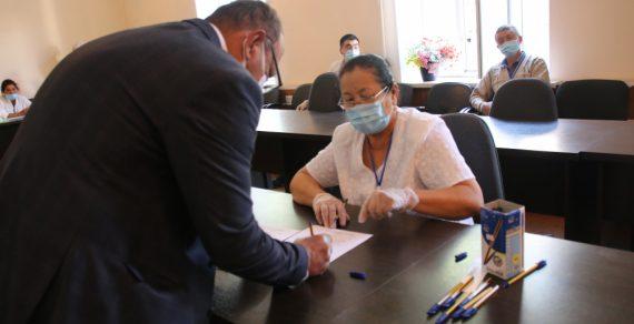 В городе Кара-Суу прошли выборы мэра