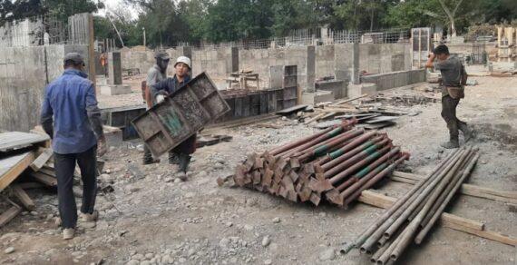 Строительство новой «инфекционки» в Бишкеке ведется согласно графику