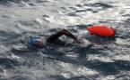 Чемпион Азии по плаванию в переплыл Иссык-Куль