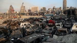 Взрыв в порту Бейрута 4 августа, нанес ущерб более чем на $15 млрд