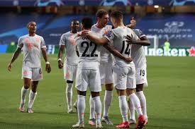 Мюнхенская «Бавария» со счетом 8:2 разгромила «Барселону» в четвертьфинале Лиги чемпионов