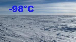 Найдено самое холодное место на Земле