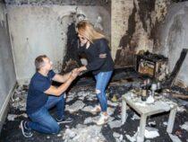 Британец сжег свою квартиру, пытаясь сделать сюрприз невесте
