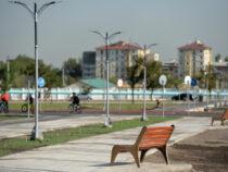 В южной части Бишкека готовят к открытию новый парк