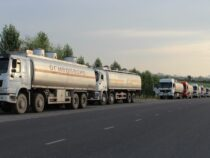 Ограничения для проезда бензовозов на трассе Бишкек – Ош сняты
