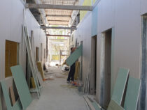 Строительство новой «инфекционки» в Бишкеке завершено на 65%