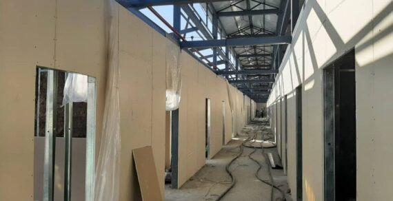 Строительство инфекционной больницы в Оше продолжается