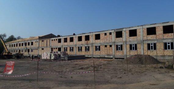 Строительство нового корпуса Джалал-Абадской больницы продолжается