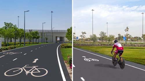 Велосипедистам предоставили возможность кататься по самой длинной дорожке в мире