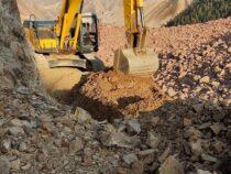 Открыта дорога на оползневом участке Кара-Кече