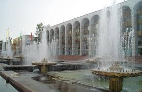 Фонтаны в Бишкеке планируется отключить в середине октября