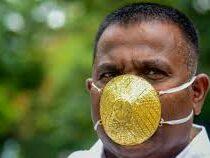 Предприниматель, носивший золотую маску, умер от пневмонии