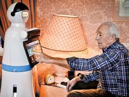 В Британии в дома престарелых поселят роботов