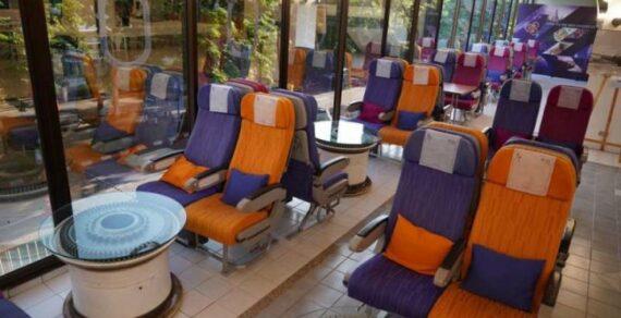 В Таиланде открылось кафе на борту самолета