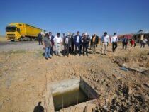 В Узгенском районе строится большой канал