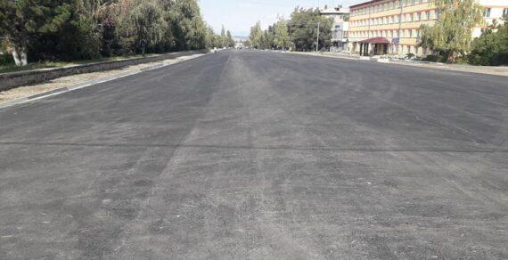 ВКараколе завершили ремонт улицы Жусупа Абдрахманова