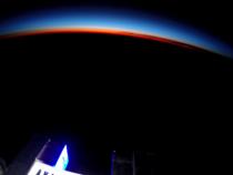 В России протестировали рекламу из космоса
