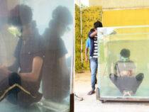 Житель Индии собрал Кубик Рубика, сидя под водой