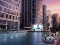 В Лондоне открылся плавучий кинотеатр