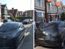 Мужчина проучил соседку, которая припарковалась не там, где нужно