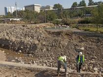В Оше начали строить мосты для перехода реки Ак-Буура