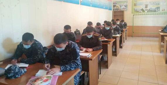 В Оше продолжается набор кандидатов в патрульную службу милиции
