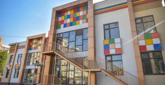 В Бишкеке построен новый детский сад