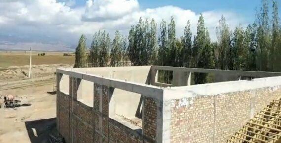 В Кочкорском районе строится новая школа