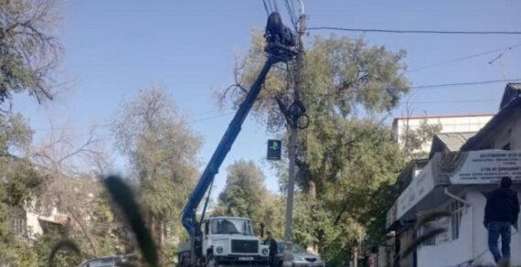 «Бишкексвет» осветил 664 улицы